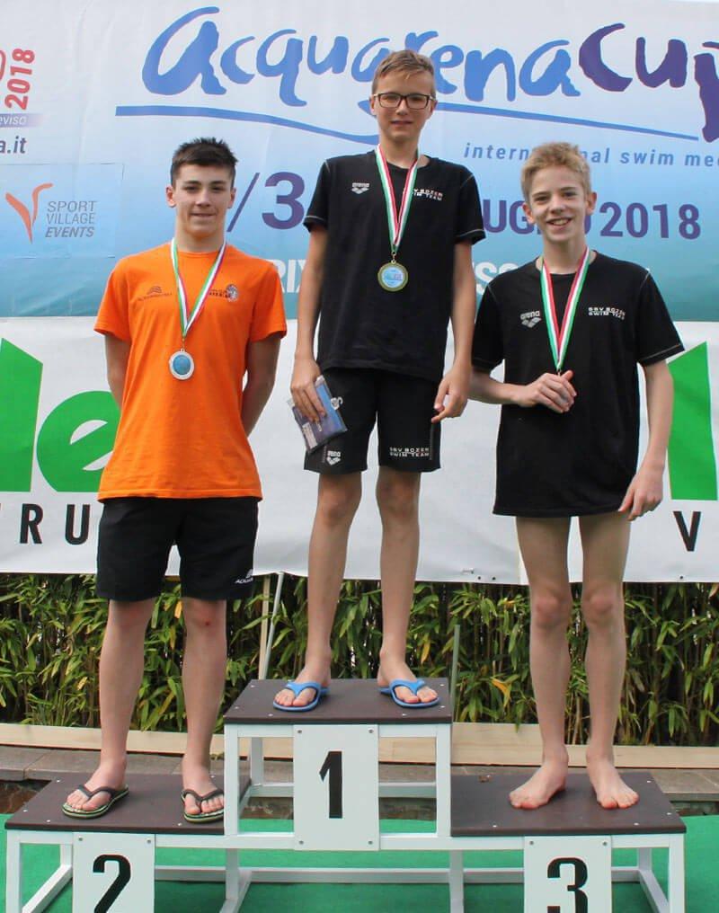 Brixen Swim Cup - AcquarenaCup Prämierungen